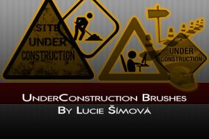 Under Construction Brushes by markyfan