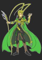 Loki by Cannibal-Cartoonist