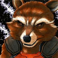 Rocket Raccoon by monstrous64