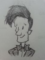 Teeny Doctor Doodle by ChrysophylaxCreates