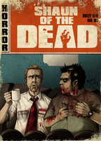 Shaun Of The Dead Cover by MikeLuckas