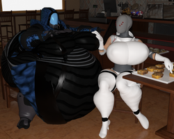 There is no end in Sight for the Quarian Feeding by ViolaNarRayya