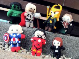 Avengers Assemble! by Haldthin
