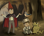 Over the Garden Wall Screen Redraw by Catnipfairy