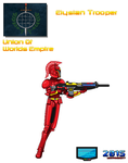 Character Concept Elysian Trooper Union Of Worlds by Luckymarine577