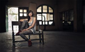 Sitting There Waiting for You by GregoriusSuhartoyo