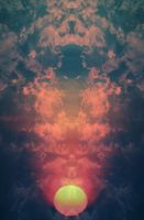 Sun rising by psychedelicstuff