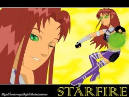 TeeN_TitanS_StarFire_Wp by Raven-a-Goth-Girl