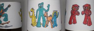 Gumby Lampshade by camriess
