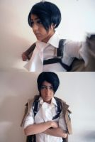 Corporal Rivaille 01 by LarbillaCosplay