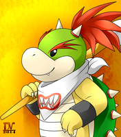 Bowser Jr. by Devil-Vox
