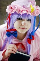 Touhou -Patchouli Knowledge- I by JessicaUshiromiyaSan