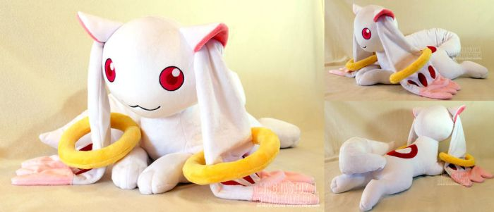 life size Kyubey by MagnaStorm