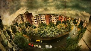 From my window pano by Trifoto