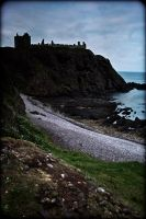 Dark in Dunnottar by mimolek