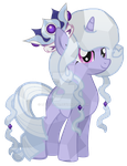 Crystal Princess Platinum by luluflaire
