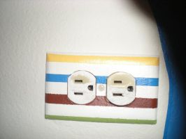 Receptacle with Designs 2 by Angelpedia
