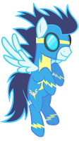 Soarin' Hovering by D4SVader