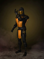 Scorpion (Gold) by romero1718