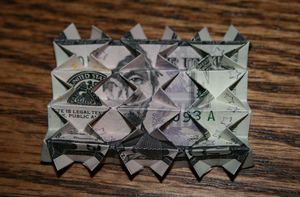 Five dollar origami by MuggleHater