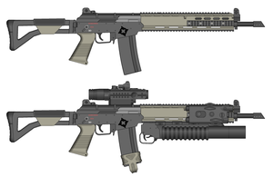 J24 Assault rifle by GunFreakFin