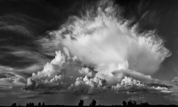 Cloud in black and white by Textures-and-More
