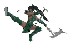 League of Legends - Akali, the Fist of Shadow pt2 by TacticianMark