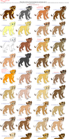 Lots and Lots of Cubs by sjsaberfan