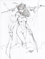 Lilith Daughter of Dracula by rantz