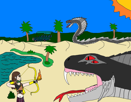Attack of the Serpents by PeteDRaptor