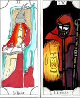 the ermit and the high priestess by True-True