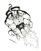Earthworm Jim Inks by MrTuke