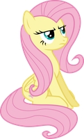 Fluttershy is not amused by Yetioner