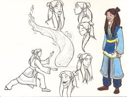 Kya Design Sheet by Kelev