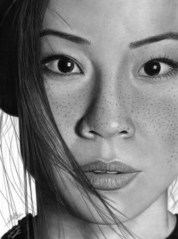 Lucy Liu by iSaBeL-MR