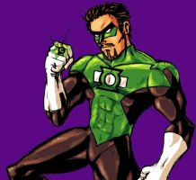 Green Lantern... me by Carnivius