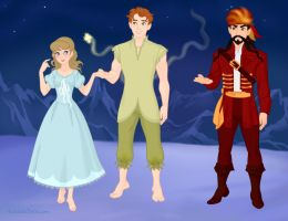 Peter and the Starcatcher by M-Mannering