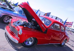 Pretty Red Chevy by StallionDesigns