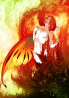 Love Flame by PassionateSnuff