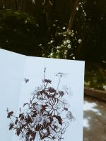 Sketching outdoors  by OlgaBerry