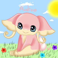 Audino by HollieBiscuit