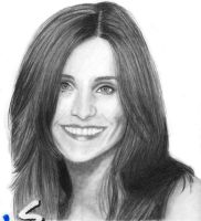 "Courtney Cox ""Friends"" by kitsunegari16"