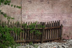 Wooden Wall And Fence by Limited-Vision-Stock