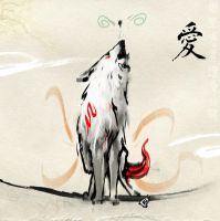 Okami Sketch 8 by GAVade