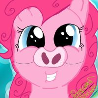 Pinkie Pie Piggy! by pegisisterswag