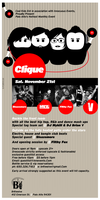 Clique. eflyer. by B-positive