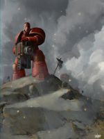 Space Marines by jontorresart