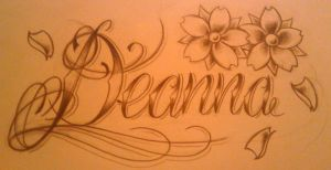 deanna tattoo design by WillemXSM