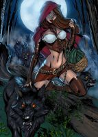 Red Riding Hood by Ronron84