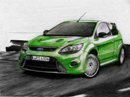 Focus RS WIP II. by smudlinka66
